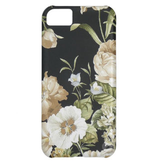 Dark Flowers. iPhone 5C Case