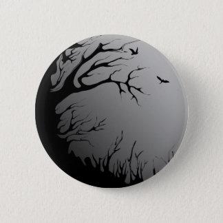 dark forest 6 cm round badge