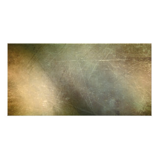 DARK FOREST GRUNGE MULTI-COLORED BACKGROUNDS DIGIT PERSONALISED PHOTO CARD