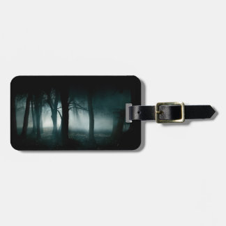 Dark Forest Luggage Tag