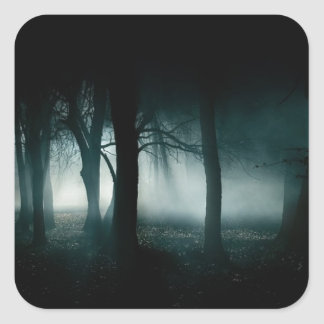 Dark Forest Square Sticker