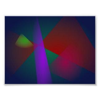 Dark Geometric Abstract Design Photograph