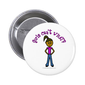 Dark Girls Can't WHAT? Logo 6 Cm Round Badge