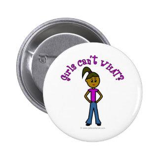 Dark Girls Can't WHAT? Logo 6 Cm Round Badge