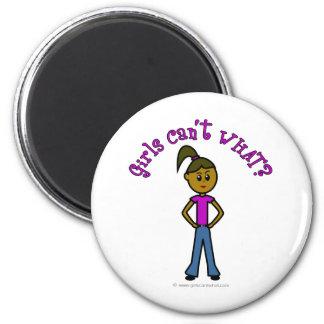 Dark Girls Can't WHAT? Logo Magnet
