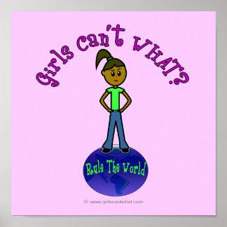 Dark Girls Rule The World Poster