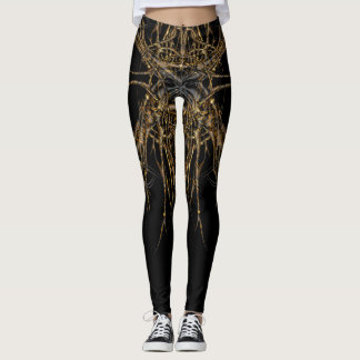 dark gold VOL Leggings