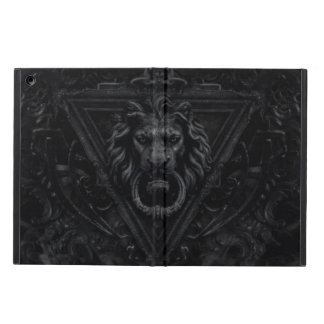 dark gothic lion cover for iPad air