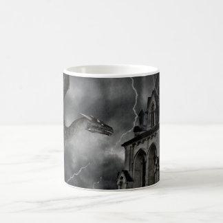 Dark gothic stormy night mug