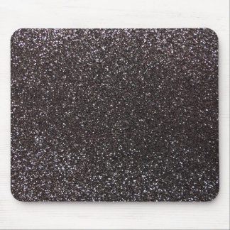 Dark gray glitter mouse mat