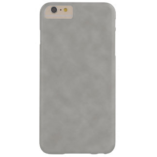 Dark Gray Parchment Texture Background Barely There iPhone 6 Plus Case