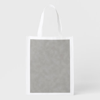 Dark Gray Parchment Texture Background Reusable Grocery Bags