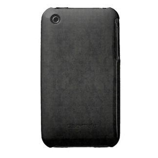 Dark Gray Splotched iPhone 3 Cases