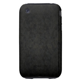 Dark Gray Splotched iPhone 3 Tough Covers