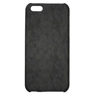 Dark Gray Splotched Case For iPhone 5C