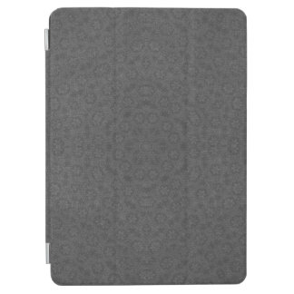 Dark Gray Star Pattern Background iPad Air Cover