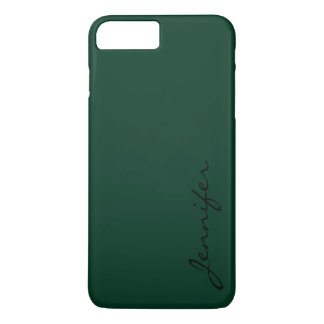 Dark green color background #2 iPhone 7 plus case