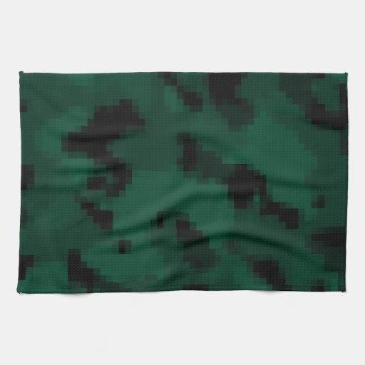 Dark Green Digital Camo; Camouflage | Zazzle