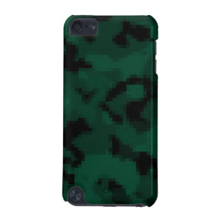 Dark Green Digital Camo; Camouflage iPod Touch (5th Generation) Covers