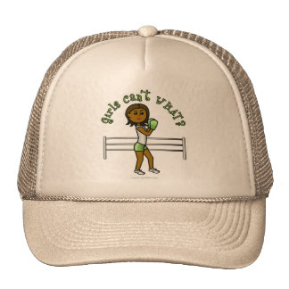 Dark Green Girls Boxing Hat