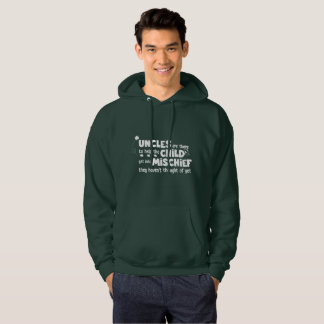 Dark Green Hoodie for Best Uncle -Uncle Definition