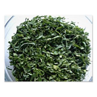 Dark green leafy vegetables sliced spinach kale photo