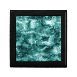 Dark Green Marble Texture Gift Box
