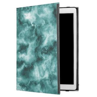 """Dark Green Marble Texture iPad Pro 12.9"""" Case"""