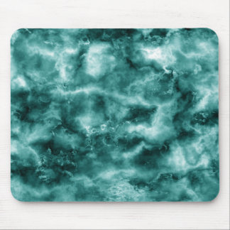 Dark Green Marble Texture Mouse Pad
