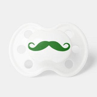 Dark Green Moustache Dummy