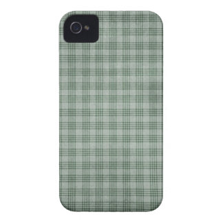 Dark Green Plaid iPhone 4 Case