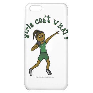 Dark Green Shot Put iPhone 5C Cases