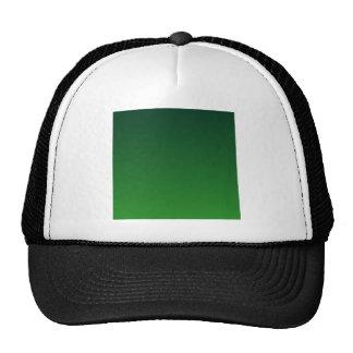 Dark Green to Green Horizontal Gradient Trucker Hats