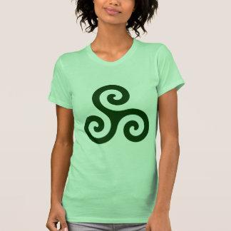 Dark Green Triskele T-shirt