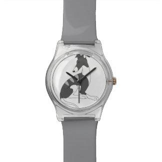 Dark Grey Brindle Roo Watch