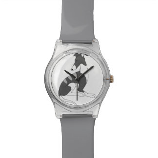 Dark Grey Brindle Roo Wristwatch