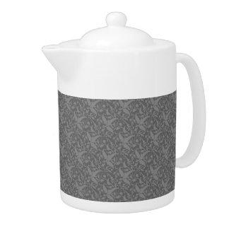 Dark Grey Elegance Medium Teapot