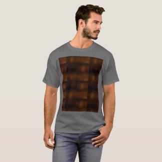 Dark Grey Future Meets Nature Meets Ancient World T-Shirt