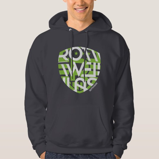 Dark Grey Hoodie - Men - Big Shield