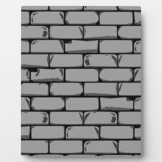 Dark Grey Wall Plaque