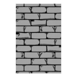 Dark Grey Wall Stationery