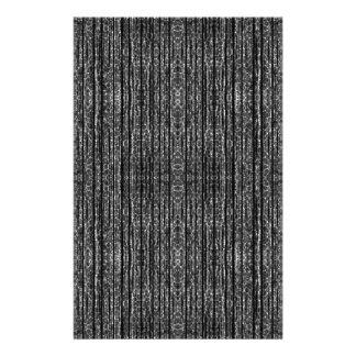 Dark Grunge Texture Stationery Paper