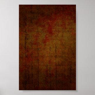 Dark Grungy Painting Background Print