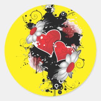 Dark Hearts Sticker