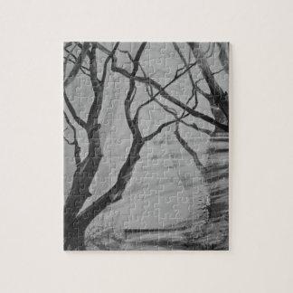 Dark Hedges, Stranocum. Irish Art Puzzle