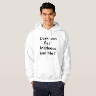 dark hood hoodie