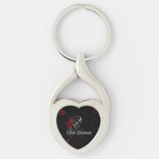 Dark Illusions Twisted Heart Key Fob