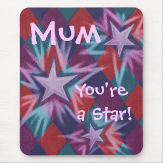Dark Jester 'Mum You're a Star' mousepad