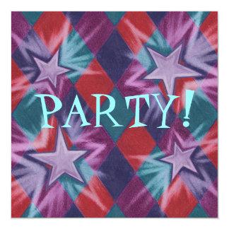 Dark Jester party invitation