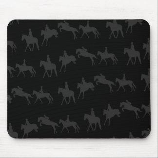 Dark Jumping Horse Sequence Mousepad